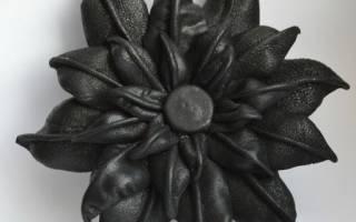 Мастер класс: цветы из кожи своими руками и выкройки с фото и видео