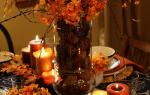 Экибана из листьев своими руками: делаем для детей на тему осень