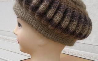 Берет ежик: видео уроки, мастер класс и описание