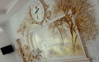 Объёмное панно на стену: мастер класс из подручных материалов с пошаговыми фото