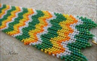 Плетение ндебеле: мастер класс бисером и схемы как делать жгут
