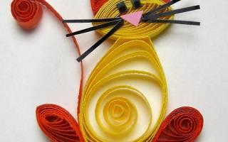 Квиллинг для детей: схемы и инструкции для новичков