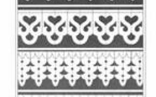 Орнаменты для резьбы по дереву: геометрические узоры и русский орнамент резьбы