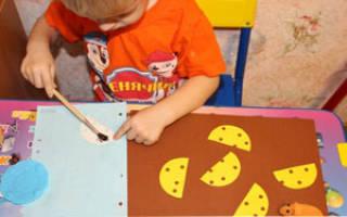 Детские аппликации из цветной бумаги своими руками: рваная аппликация и шаблоны