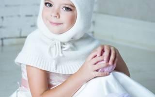 Шапка шлем для девочки: мастер класс и описание
