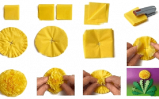 Что можно сделать из салфеток своими руками: поделки на стол