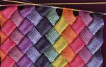 Техника энтерлак: вязание спицами для начинающих и описание для новичков