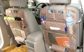 Органайзер в машину своими руками: выкройка с фото