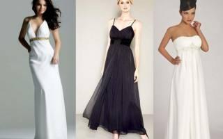 Выкройка платья ампир: как сшить своими руками