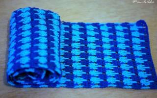 Детский шарф крючком: мастер класс для начинающих