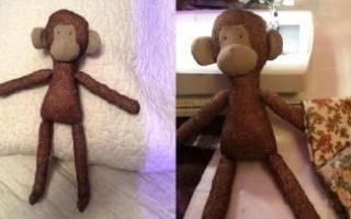 Как сшить тильду обезьяну: мастер класс и выкройка