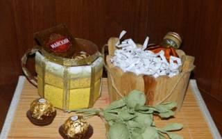 Пивная кружка из конфет: мастер класс своими руками