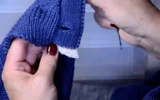 Как вывязывать петли для пуговиц спицами: видео-подборка в статье