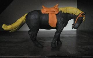 Как сделать лошадь из пластилина: мастер класс поэтапно с видео-подборкой