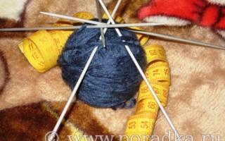 Как связать носки на 2 и 5 спицах для начинающих: ажурные женские, мужские и детские вещи