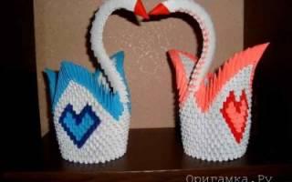 Объемное оригами из бумаги для начинающих: сердце, звезда и лебедь