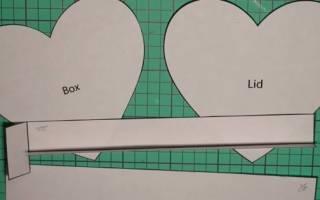 Как сделать коробочку из картона: схема и шаблон как сделать своими руками