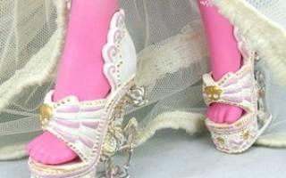 Обувь для барби: мастер класс своими руками