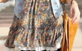 Одежда в стиле бохо своими руками с выкройками: готовые переделки
