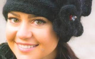 Женские шапки спицами со схемами и описанием, с видео и фото