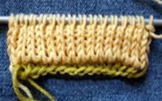 Полая резинка спицами: варианты на круговых спицах (фото и видео прилагаются)