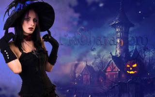 Костюм ведьмы своими руками: фото на хэллоуин