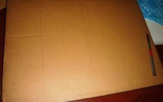 Мастер класс по шкатулке из картона своими руками: изготовление по выкройке со схемами