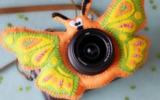 Игрушка на объектив фотоаппарата своими руками: мастер класс для новичков