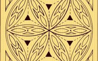 Геометрическая резьба по дереву: узоры, схемы и орнаменты для начинающих рукодельниц