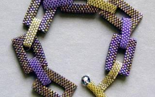Схемы плетения браслетов из бисера своими руками: простые браслеты из бисера и бусин