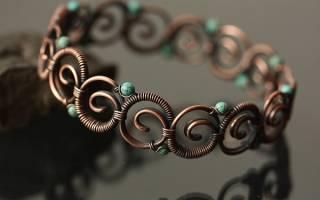 Плетение из проволоки своими руками: схемы как делать украшения для начинающих мастеров