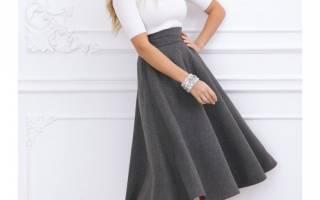 Как выкроить юбку полусолнце: варианты на резинке