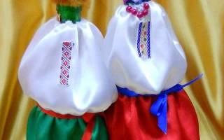 Одежда для шампанского на свадьбу своими руками: мастер класс в украинском стиле