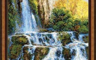 Вышивка крестом пейзажей: схемы (бесплатно) природы и натюрмортов