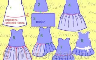 Крестильное платье для девочки: делаем своими руками