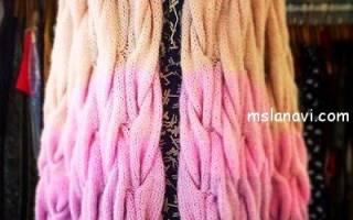 Вязание кардигана косами: схема вязания с фото