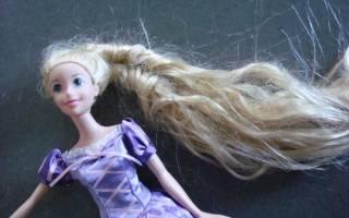 Как выпрямить волосы кукле: делаем в домашних условиях
