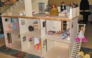 Кукольный домик из фанеры: своими руками с фото и видео подборками