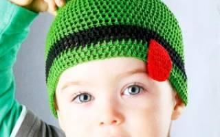 Шапочка для мальчика крючком: схемы и описание как связать осеннюю и зимнюю шапку