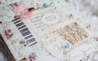 Свадебный альбом скрапбукинг своими руками, мастер-класс для начинаюших