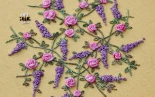 Вышивка рококо для начинающих: делаем на вязаных изделиях по фото подборке