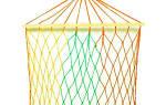 Плетение гамака своими руками: схема веревки и видео обучение мастерству