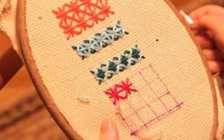 Болгарская вышивка крестом: схемы для новичков