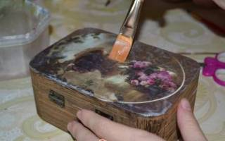 Роспись шкатулок своими руками: мастер класс лаковых шкатулок с фото-подборкой