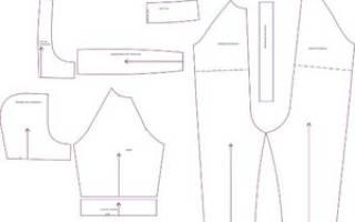 Выкройка детского комбинезона: из флиса, из джинса и мехового комбинезона