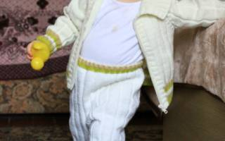 Как связать штанишки для девочки спицами: варианты для новорожденного малыша