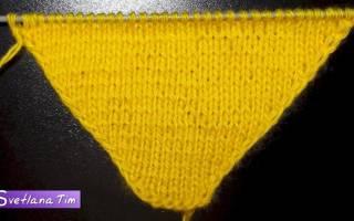 Прибавление петель спицами: пошаговые мк с фото и видео для начинающих