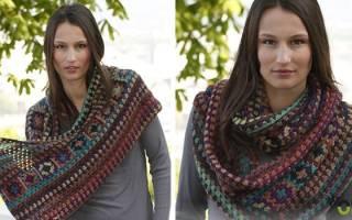 Как связать шарф из мохера: описание для начинающих