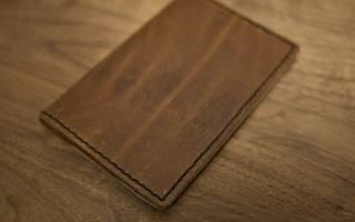 Обложка на паспорт своими руками из кожи и ткани: мастер-класс скрапбукинга