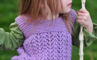 Безрукавка для девочек: схемы и описание как делать крючком и спицами